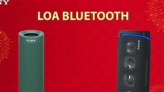 Bộ 3 loa bluetooth Sony - 'Ông hoàng party' của giới trẻ