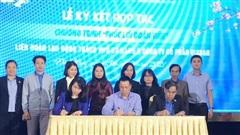 Vissan hợp tác với Liên đoàn lao động TP.Đà Nẵng