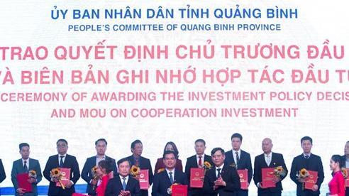 Tập đoàn DIC nhận biên bản hợp tác đầu tư dự án quy mô gần 2.000 tỷ tại Quảng Bình