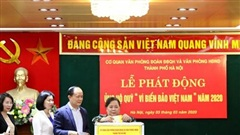 Hà Nội: Triển khai quyên góp ủng hộ Quỹ 'Vì biển, đảo Việt Nam' từ ngày 1-2