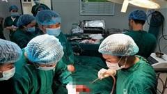 Vĩnh Phúc: Phẫu thuật cứu sống bệnh nhân bị vết thương ở tim, rách tâm nhĩ phải