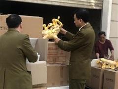 Hà Nội thu giữ hàng trăm chai rượu giả dán nhãn nước ngoài