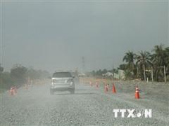 Tổ chức phân luồng tuyến Trung Lương-Mỹ Thuận dịp Tết Nguyên đán 2021