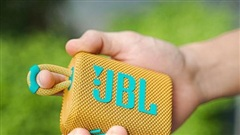 Trải nghiệm JBL GO 3: Âm thanh Pro Sound trong thân hình 'tắc kè hoa' bé xíu, chống nước IP67 để 'quẩy' mọi nơi