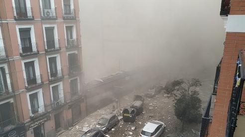 Nổ lớn ở thủ đô Tây Ban Nha