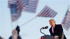Ông Trump chúc ông Biden 'may mắn và thành công' trong phát biểu chia tay