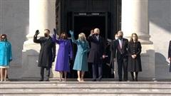 Những nhân vật quyền lực tham dự lễ nhậm chức của Tổng thống đắc cử Joe Biden