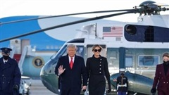 Ông Trump được chào đón ở Florida sau khi rời Nhà Trắng