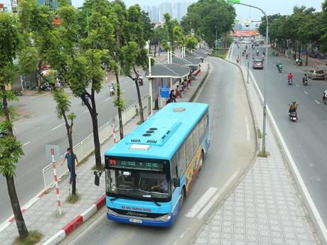 Hà Nội điều chỉnh lộ trình 19 tuyến buýt để phục vụ Đại hội Đảng
