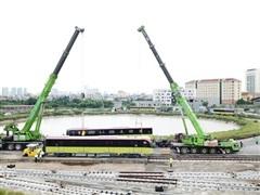 Mở cửa 2 ngày để người dân tham quan đoàn tàu metro Nhổn-ga Hà Nội