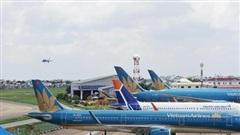 Ảnh hưởng của mây mù, hàng loạt chuyến bay đi đến Nội Bài phải hạ cánh ở sân bay khác