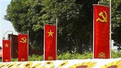 Hà Nội: Rực rỡ sắc hoa chào mừng Đại hội XIII của Đảng