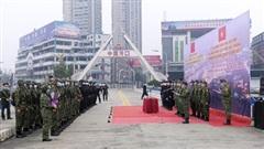 Ra quân tuần tra liên hợp năm 2021 trên biên giới Việt Nam – Trung Quốc