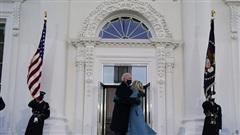 Ông Biden đến Nhà Trắng với tư cách tổng thống