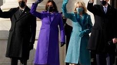 Thời trang ngày nhậm chức ở Mỹ: Ẩn ý sâu xa!