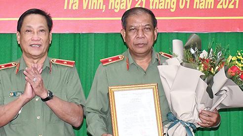 Thiếu tướng Kiên Rịnh làm Phó Giám đốc Công an Trà Vinh