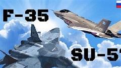 Su-57 đấu F-35: 'Trận chiến giữa đại bàng và cú mèo'
