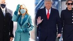Tân Đệ nhất phu nhân Mỹ Jill Biden và Melania Trump 'so kè' trang phục cực gắt tại lễ nhậm chức