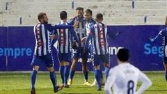 Real Madrid thất thủ trước đội bóng hạng Ba ở Cúp Nhà vua Tây Ban Nha