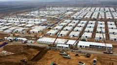 Trung Quốc xây trại cách ly khổng lồ cho 4.000 người