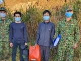 Quảng Nam: Phát hiện 2 người vượt biên trái phép
