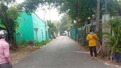Một dãy trọ bị phong tỏa do 3 người nhập cảnh trái phép về từ Campuchia