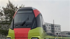 Đoàn tàu đầu tiên của tuyến đường sắt đô thị Nhổn - Ga Hà Nội chính thức lăn bánh