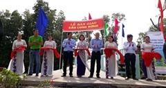 Mcredit xây cầu tặng người dân Cà Mau nhân dịp năm mới 2021