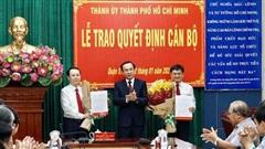 Đồng chí Nguyễn Văn Hiếu được điều động làm Bí thư Thành ủy TP Thủ Đức
