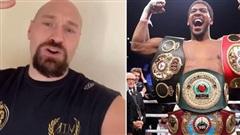 Tyson Fury cam kết sẽ hạ đo ván Anthony Joshua trong trận siêu đại chiến tại hạng nặng