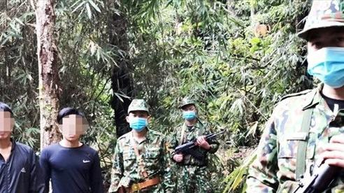Quảng Nam: Đưa đi cách ly 2 người vượt biên trái phép vào Việt Nam