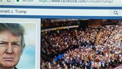 Facebook định đoạt tương lai tài khoản của cựu Tổng thống Donald Trump