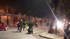 Nhóm thiếu niên phóng xe máy náo loạn TX Sơn Tây bị cảnh sát đón lõng bắt giữ