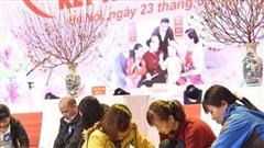Công nhân, lao động Thủ đô được nhận 5.600 phiếu mua hàng tại phiên chợ Tết