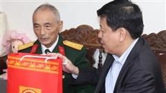 Lãnh đạo thành phố Hà Nội chúc Tết thương, bệnh binh tại huyện Thường Tín