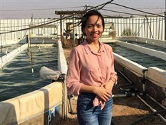 Nữ 'đại sứ nhỏ' trên đất Israel nặng lòng với quê hương