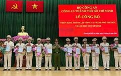 Đại tá Nguyễn Hoàng Thắng được bổ nhiệm làm Trưởng Công an TP Thủ Đức