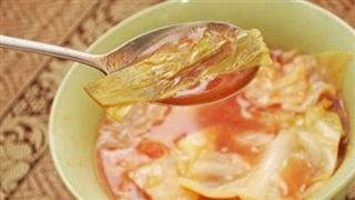Giảm cân trong 1 tuần với súp bắp cải