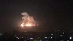 Israel nã tên lửa sang Syria, 4 người thiệt mạng
