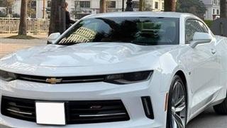 Nhà đông con, 'dân chơi' đành lòng chia tay Chevrolet Camaro RS mới chạy 16.000km để tậu xe phục vụ gia đình