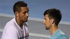 Nick Kyrgios chế giễu Novak Djokovic là 'tay sai' tại Australia Mở rộng 2021