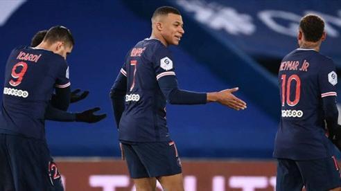 Song sát Mbappe - Neymar giúp PSG thắng trận '4 sao'