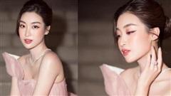 Hoa hậu Đỗ Mỹ Linh gây thương nhớ khôn nguôi với bộ váy hồng xếp tầng tinh tế