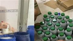 Phá đường dây sản xuất thuốc bảo vệ thực vật giả ở TP.HCM