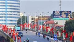 Thủ đô rực rỡ chào mừng Đại hội lần thứ XIII của Đảng