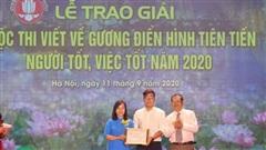 Hội Liên hiệp Văn học nghệ thuật Hà Nội phát động thi viết về gương điển hìnhtiên tiến, người tốt, việc tốt