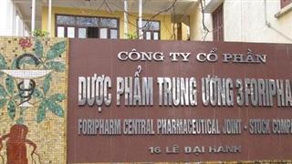 Dược phẩm Trung ương 3 (DP3): Quý 4 LNST đạt 38 tỷ đồng cao gấp 11 lần cùng kỳ