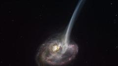 Thiên hà 'có đuôi' này đang chết, mỗi ngày rò rỉ ra không gian lượng vật chất tương đương 10.000 ngôi sao