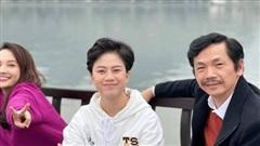 Bảo Thanh vui mừng khi được gặp lại bố Sơn - NSND Trung Anh và Dương - Bảo Hân