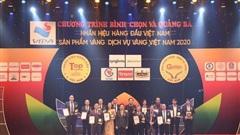 King Coffee đạt giải thưởng Top 20 Nhãn hiệu hàng đầu Việt Nam – Sản phẩm, Dịch vụ Vàng Việt Nam năm 2021